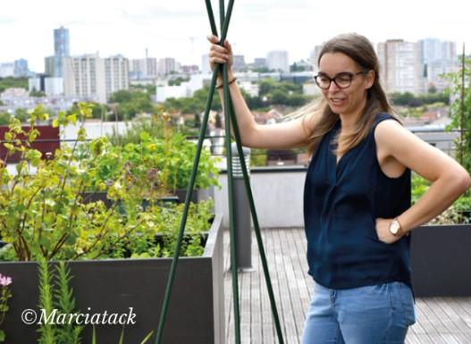 Blogeuse Marcia Tack pour les jardins en villes