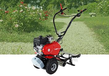 Désherbage mécanique pour se débarrasser des herbes et adventices