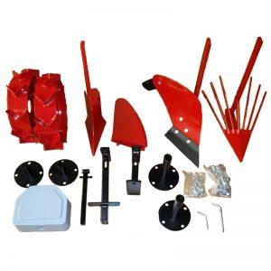 Kit accessoires complet pour motoculteurs eco, ecomax, elite