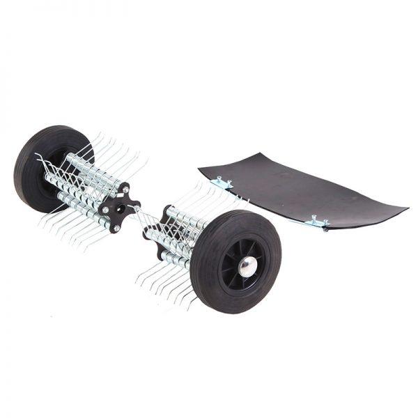 le kit emousseur tillence est idéal pour entretenir la pelouse de votre jardin