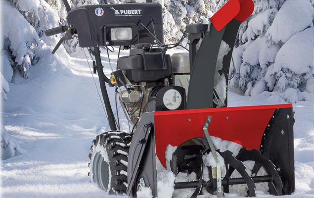 machine Valto fraise à neige Pubert pour le déneigement