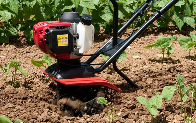 utilisation d'une motobineuse pour cultiver son potager et obtenir de bons légumes