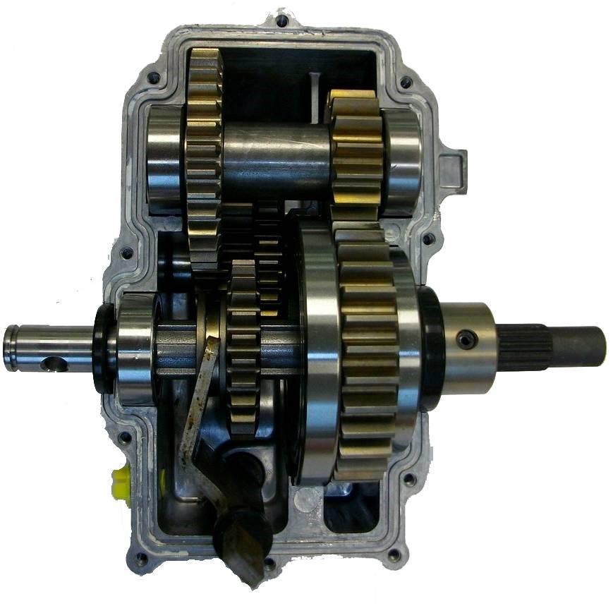 Mécanisme de la boite de vitesse mécanique pour motobineuse
